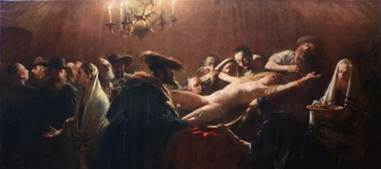 Genremalerei 19. jahrhundert  Bilderstreit: Berühmtester ungarischer Maler ein Antisemit?